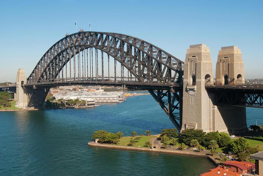 Sydney Harbor Bridge Photograph by Kokkai Ng