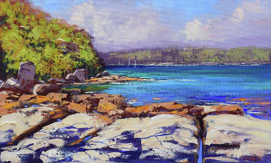 Sydney Harbour Balmoral Painting