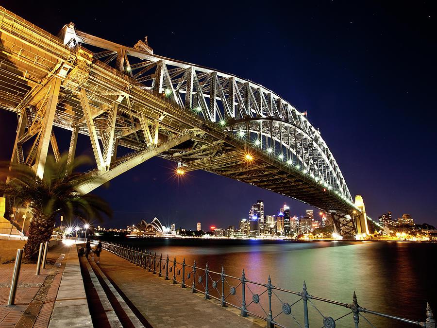 Sydney Harbour Bridge & Opera House Photograph by Kf Shots