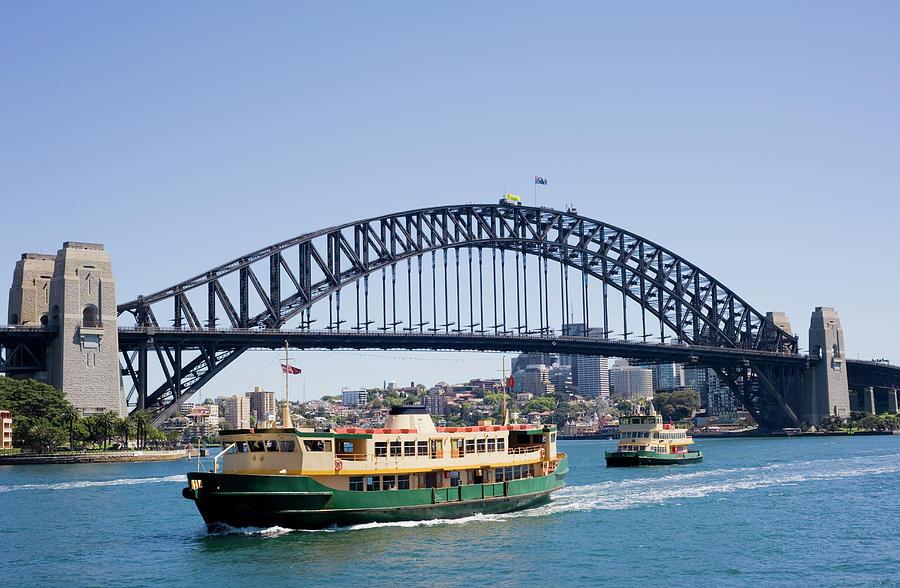 Sydney Harbour Bridge And City Skyline Photograph by Deejpilot