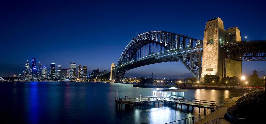 Sydney Harbour Bridge Photograph by Timstarkey