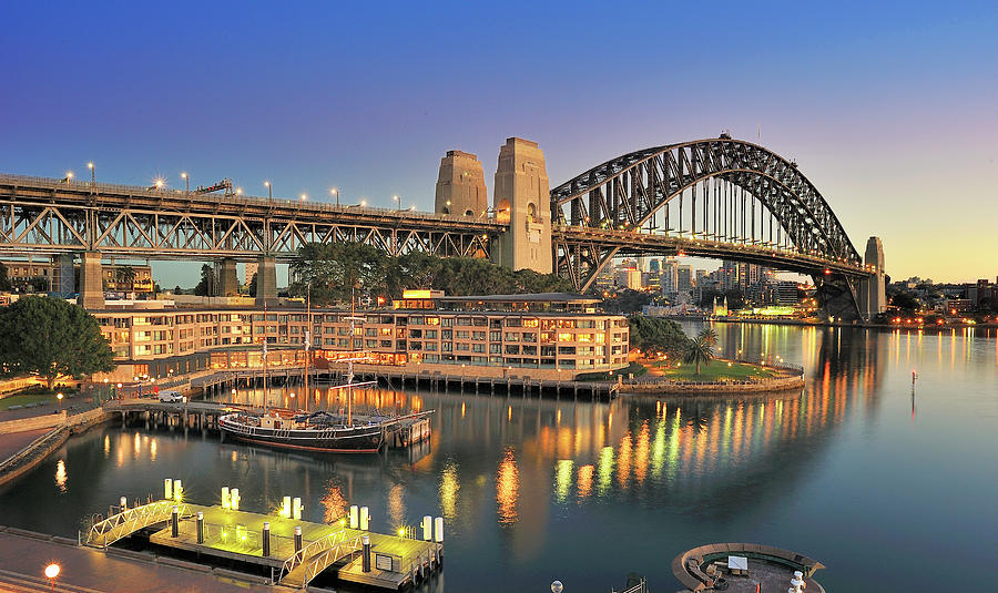 Sydney Harbour Bridge Photograph by Warwick Kent