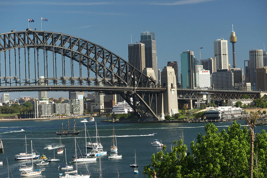 Sydney Harbour, New South Wales Photograph by Robin Smith