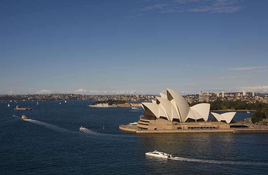 Sydney Opera House A Top Tourist Photograph by George Rose