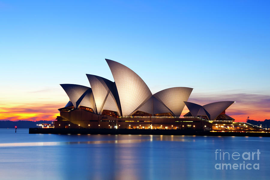 Sydney Opera House Australia Photograph by Simonbradfield