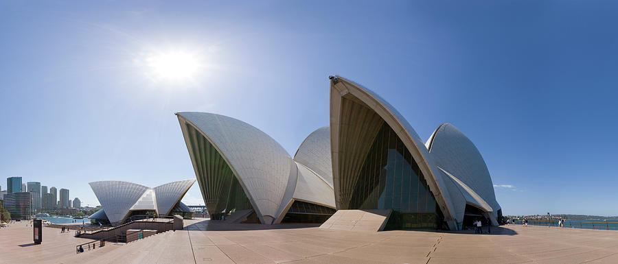 Sydney Opera House Photograph by Michael Dunning