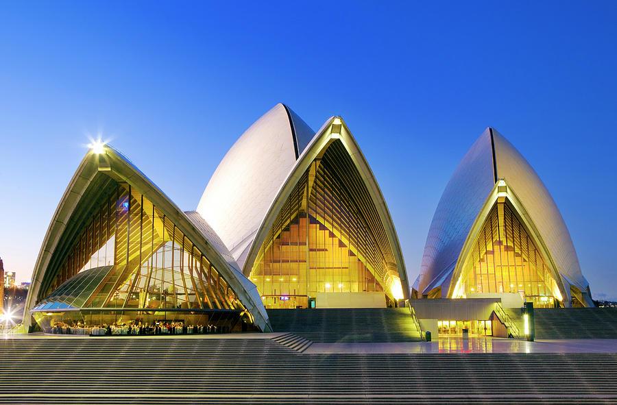 Sydney Opera House Photograph by Scott E Barbour