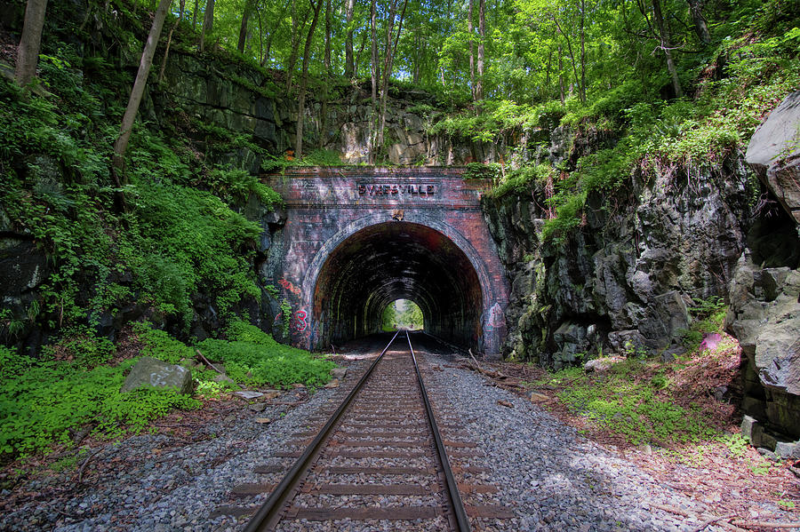 Sykesville Rail Tunnel by Mark Dodd