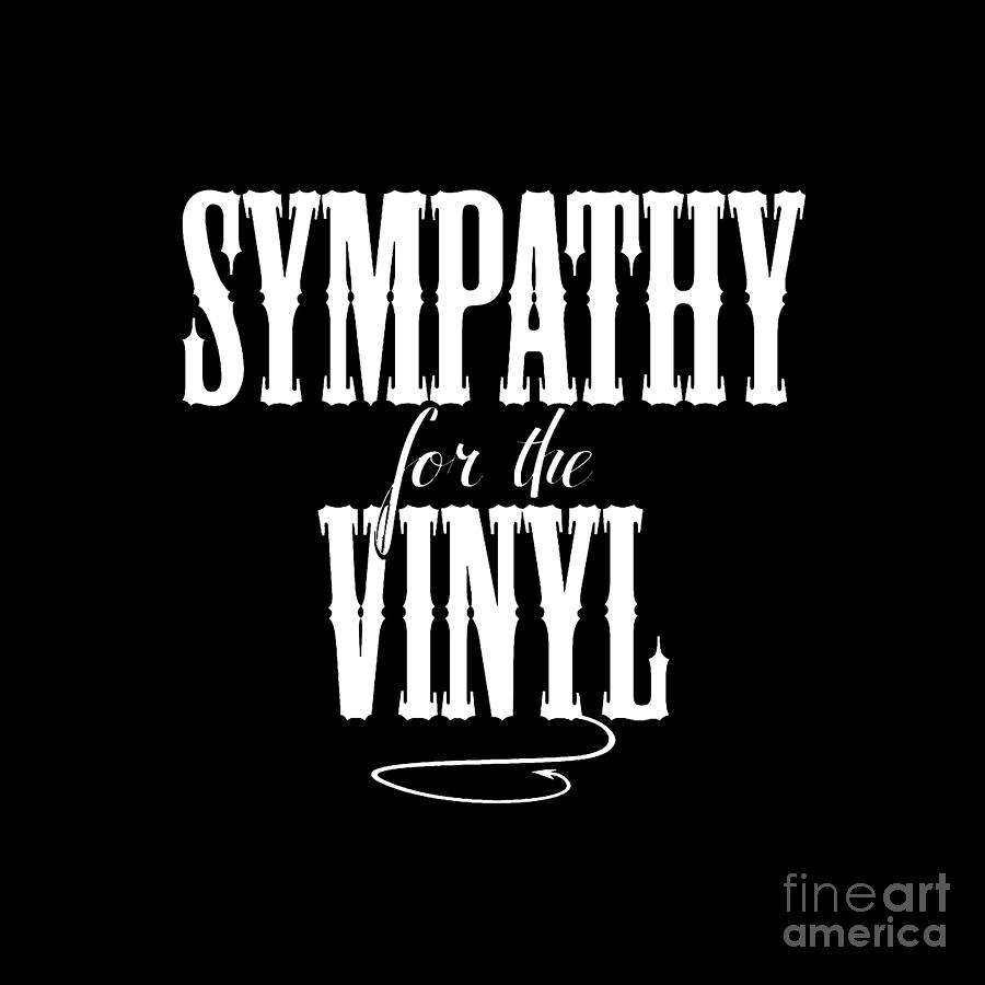 Sympathy for the Vinyl - No Record by Rock on Wall USA