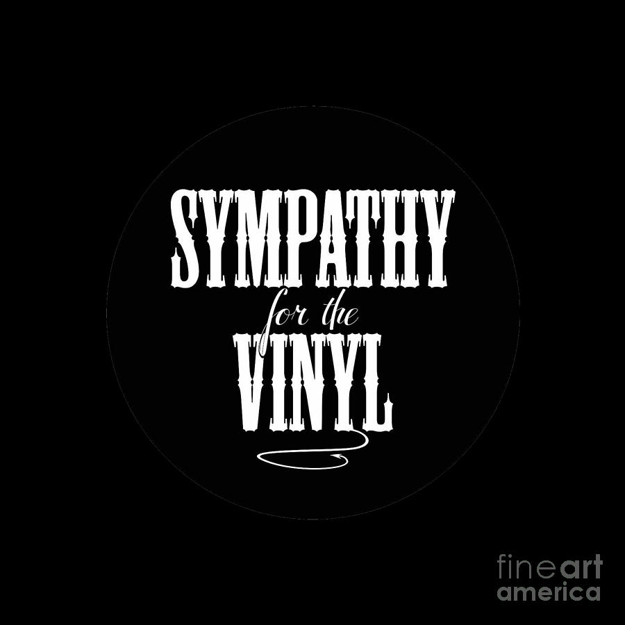 Sympathy for the Vinyl on Vinyl Record by Rock on Wall USA