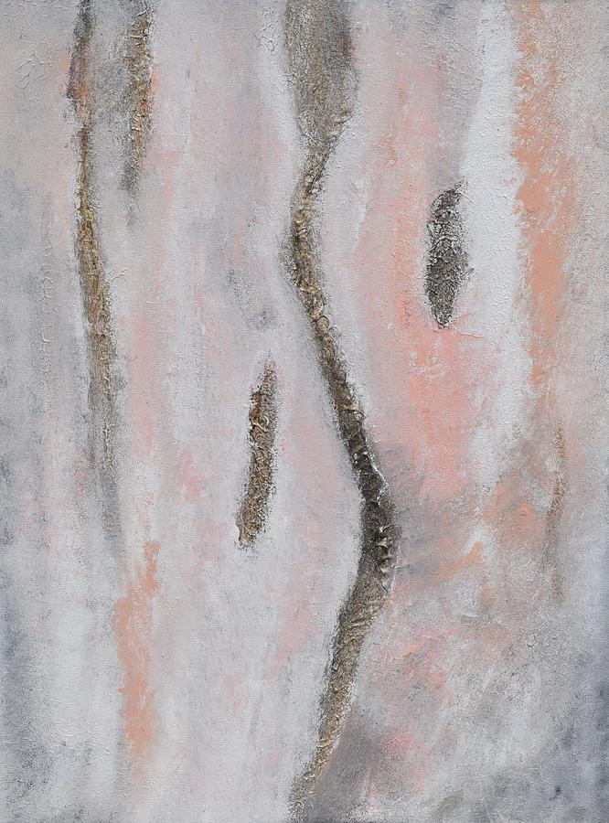 Abstract Painting - Symphony No. 01.1 by Lkb Art And Photography