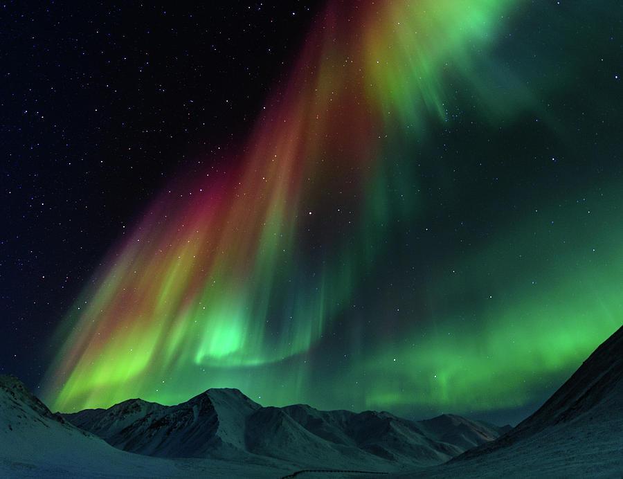 Symphony Of Northern Lights Photograph by Noppawat Tom Charoensinphon