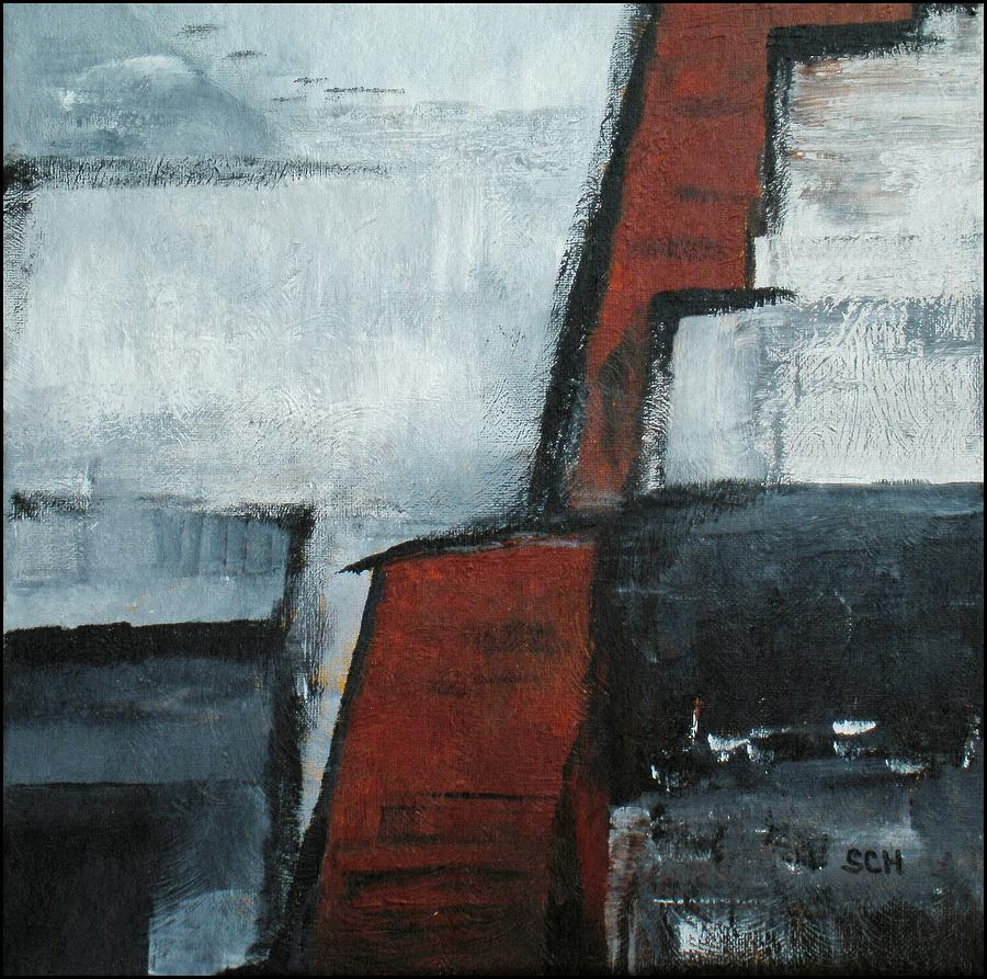 Abstract Painting - Synthesis Number Three by Scott Haley