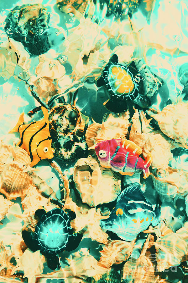 Aquatic Photograph - Synthetic Seas by Jorgo Photography - Wall Art Gallery