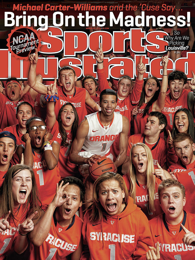 Syracuse University Michael Carter-williams, 2013 March Sports Illustrated Cover Photograph by Sports Illustrated