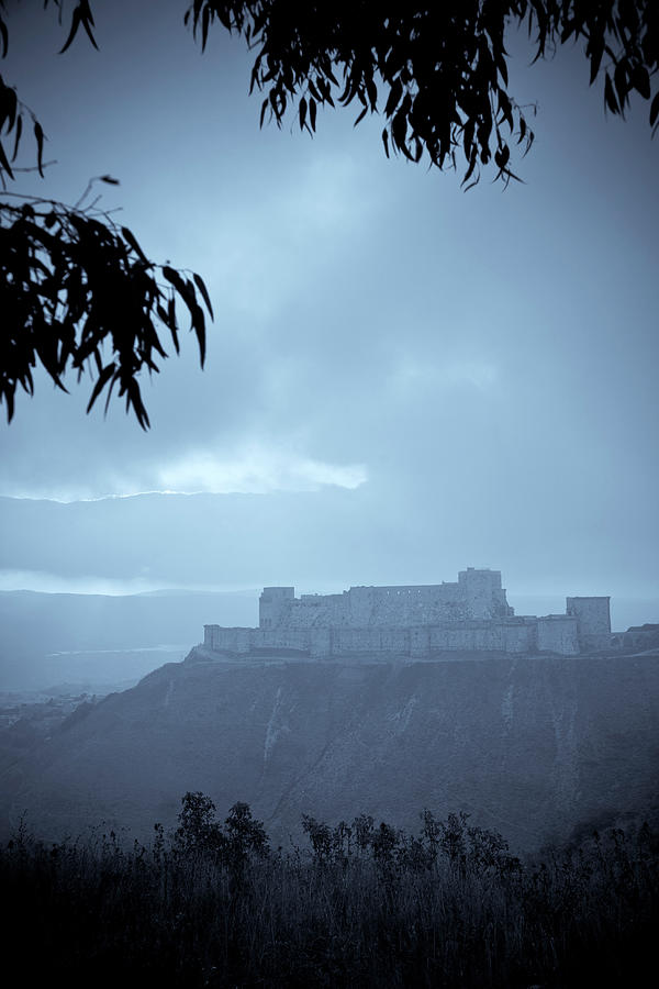 Syria, Krak Des Chevaliers Fortress Photograph by Michele Falzone