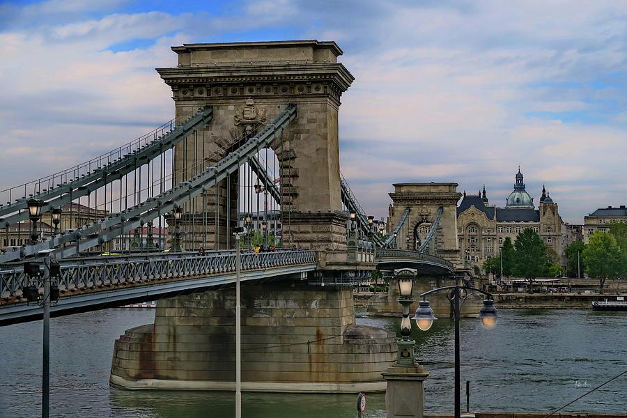 Szechenyi Chain Bridge - Budapest by Russ Harris