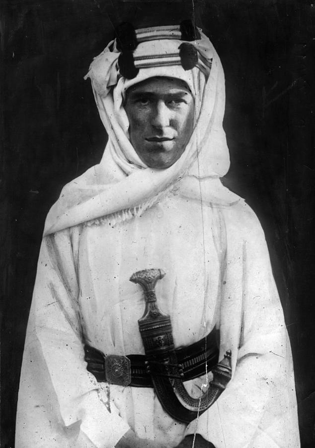T E Lawrence Photograph by Hulton Archive