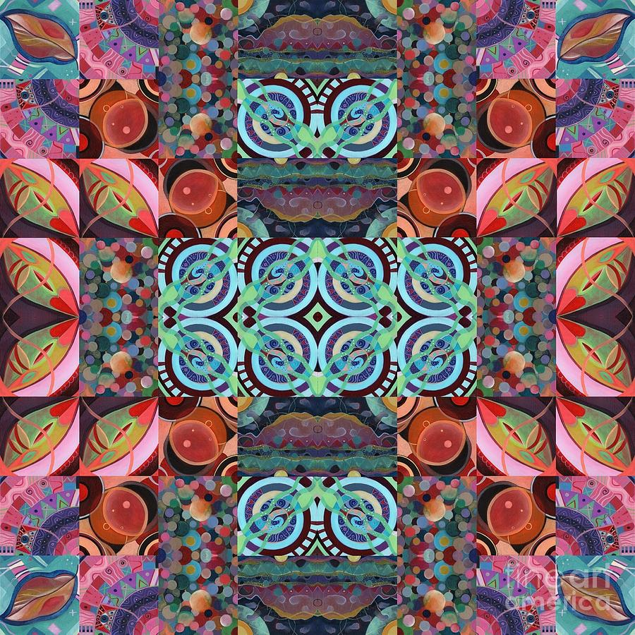 The Joy of Design Mandala Series Puzzle 7 Arrangement 6 by Helena Tiainen