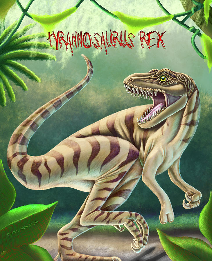 T-rex Digital Art