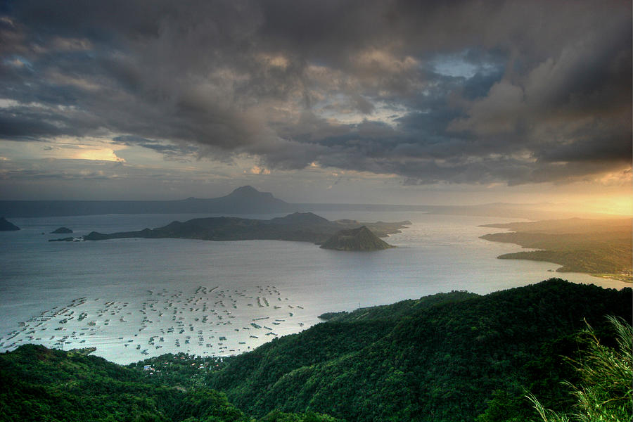 Scenic Photograph - Taal Sunset by Photo ©tan Yilmaz