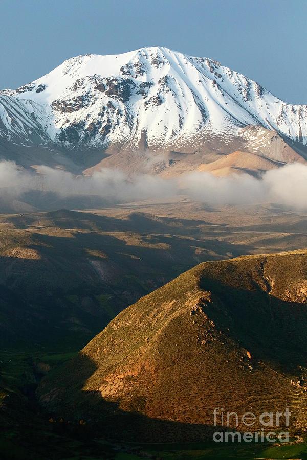 Taapaca Volcano Putre Chile by James Brunker