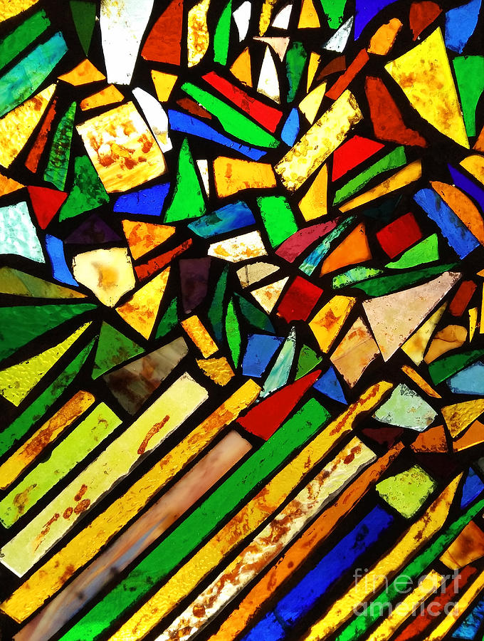Tabernacle Baptist Church Stained Glass I  by Robert Knight