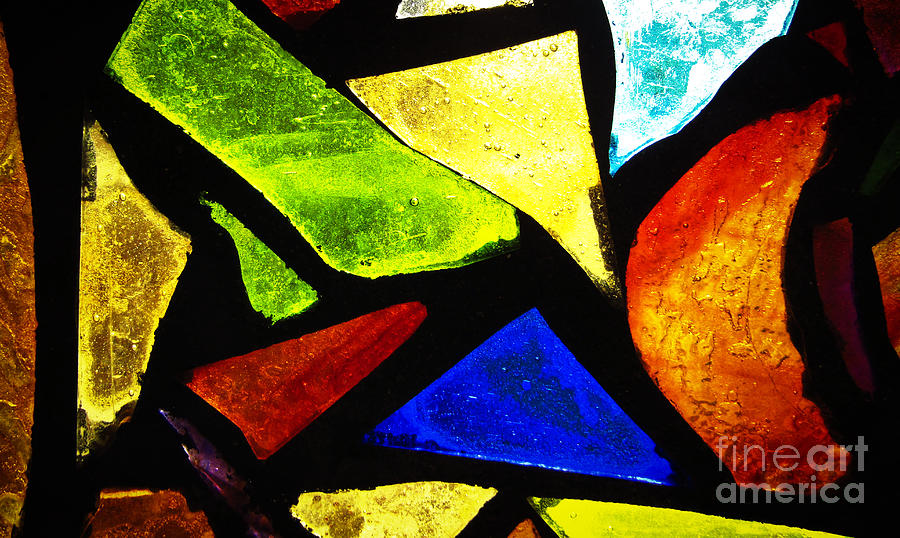 Tabernacle Baptist Church Stained Glass III by Robert Knight