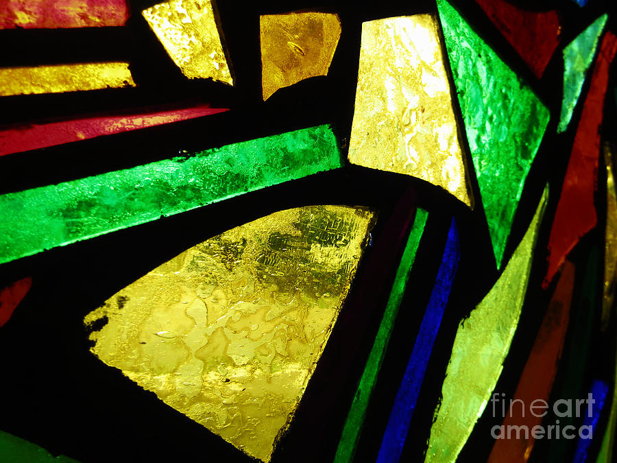 Tabernacle Baptist Church Stained Glass IV  by Robert Knight
