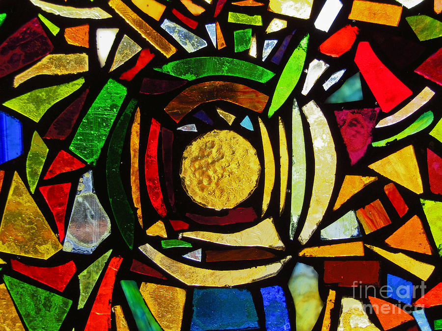 Tabernacle Baptist Church Stained Glass IX by Robert Knight