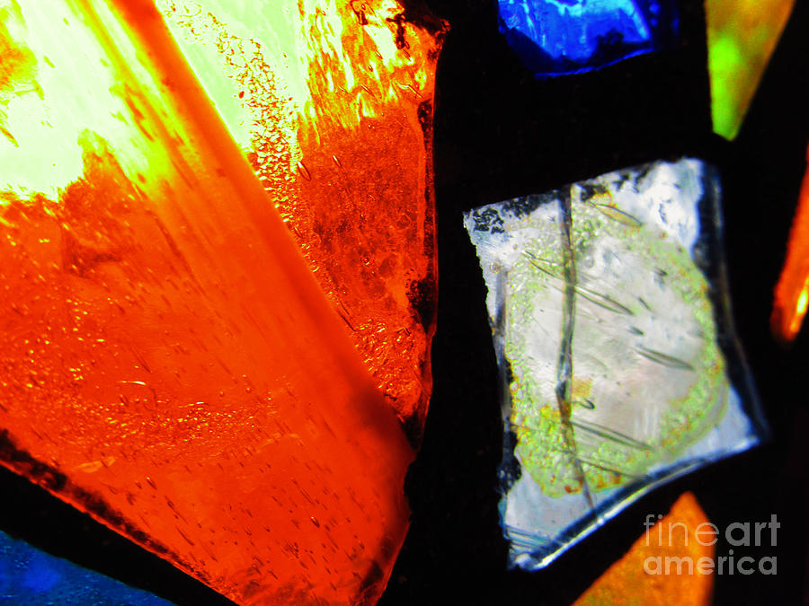 Tabernacle Baptist Church Stained Glass V  by Robert Knight