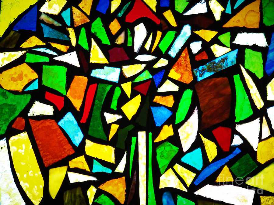 Tabernacle Baptist Church Stained Glass VI  by Robert Knight
