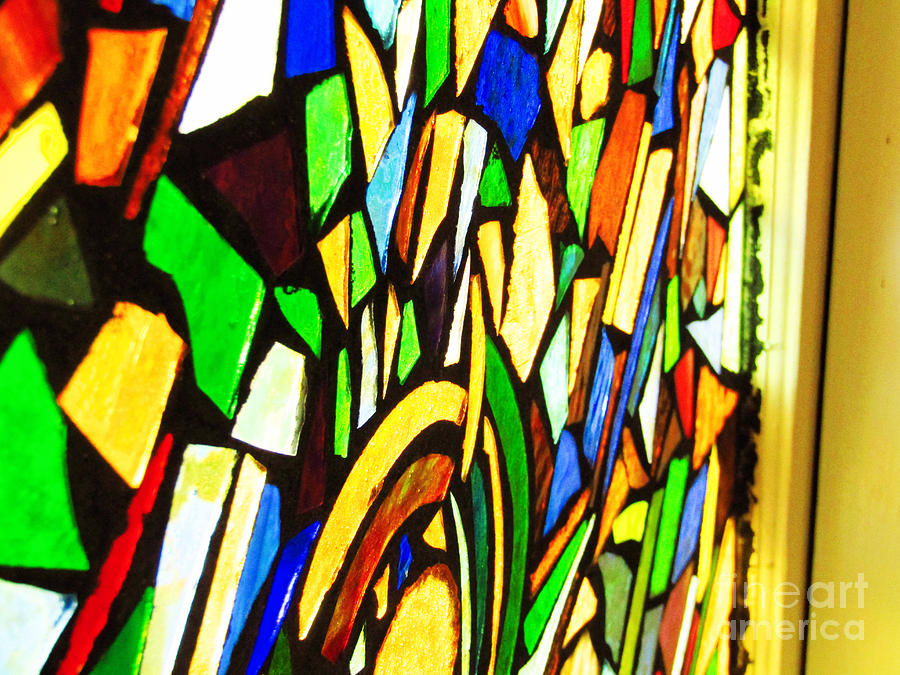 Tabernacle Baptist Church Stained Glass VII  by Robert Knight