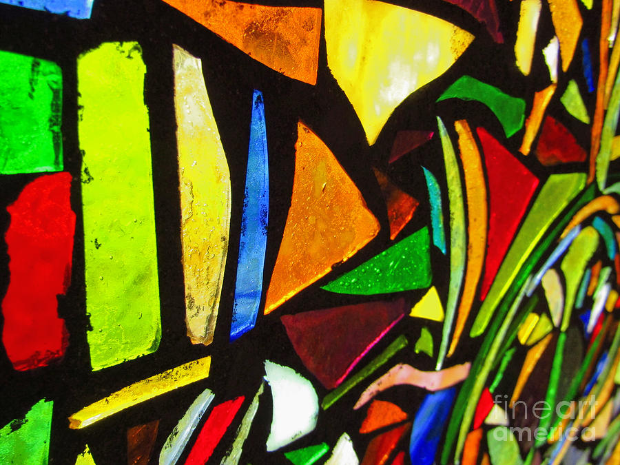 Tabernacle Baptist Church Stained Glass X by Robert Knight