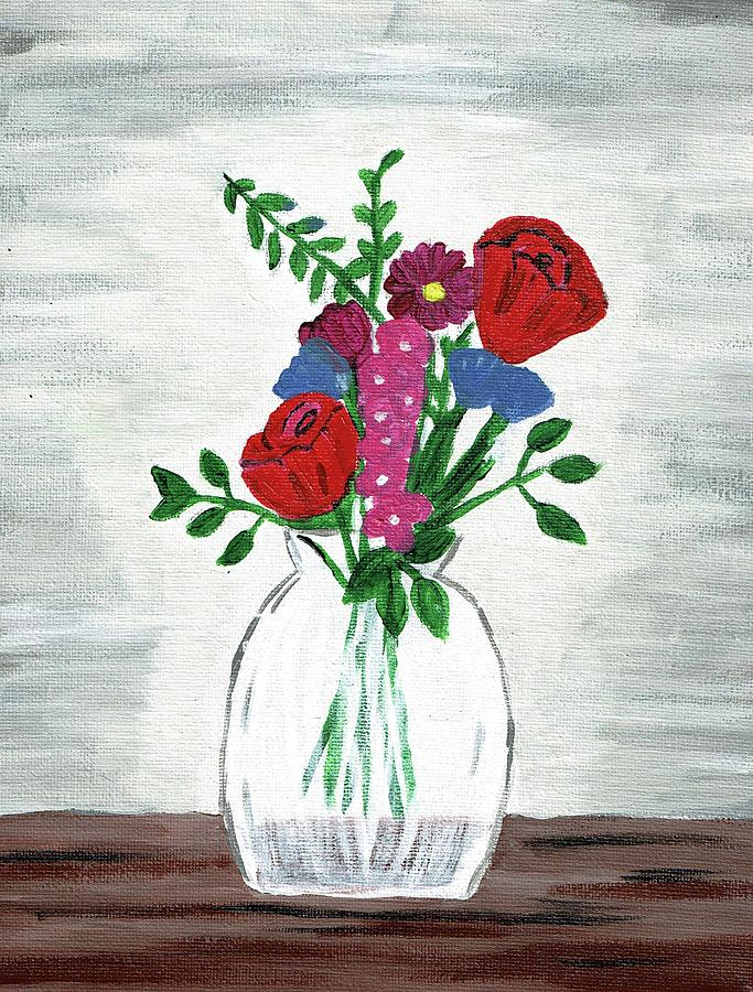 Table Flowers by Sarah Warman