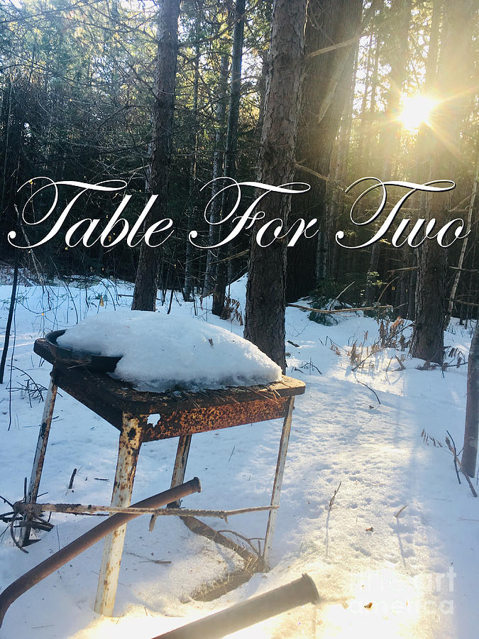 Table For Two by Sheila McPhee