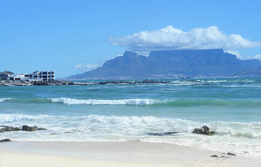 Table Mountain Cape Town Photograph by John Snelling