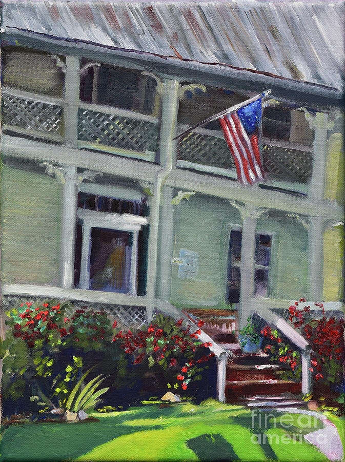 Tabor House - Historical Home of Ellijay by Jan Dappen