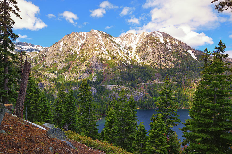 Lake Tahoe Photograph - Tahoe Inspiration Point by Greg Norrell