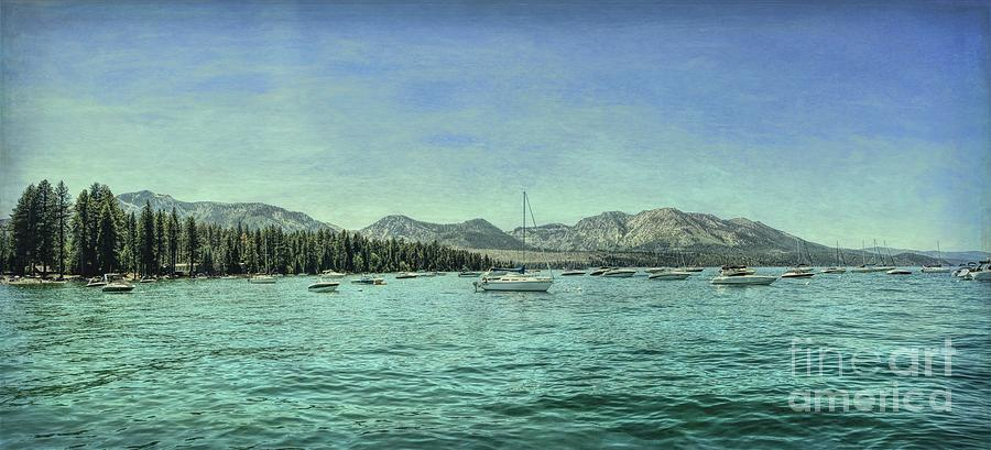 Tahoe Marina Textured by Joe Lach