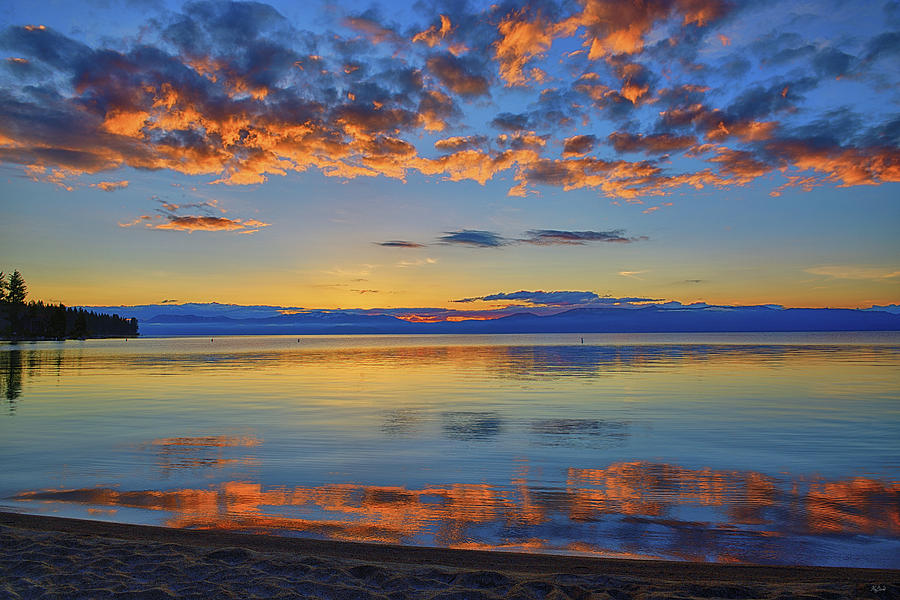 Lake Tahoe Photograph - Tahoe Morning Light by Greg Norrell
