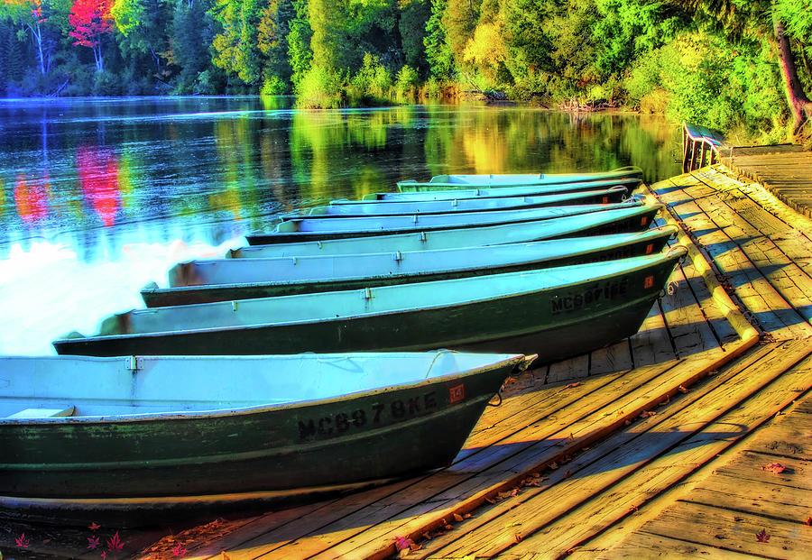 Tahquamenon Falls Boat Dock Photograph