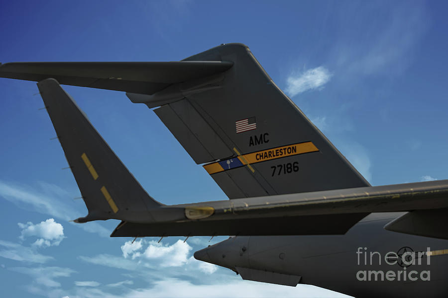 Tail Wind - United State Air Force - Charleston Photograph
