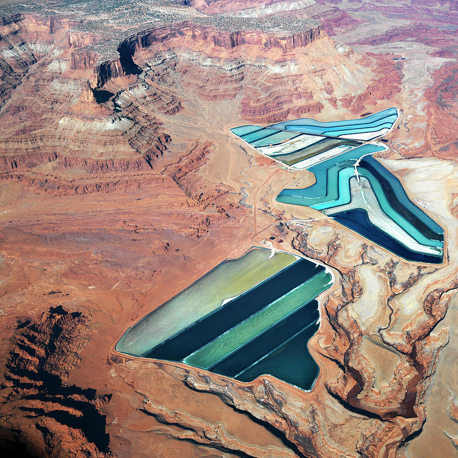 Tailings Ponds Photograph by Fuse