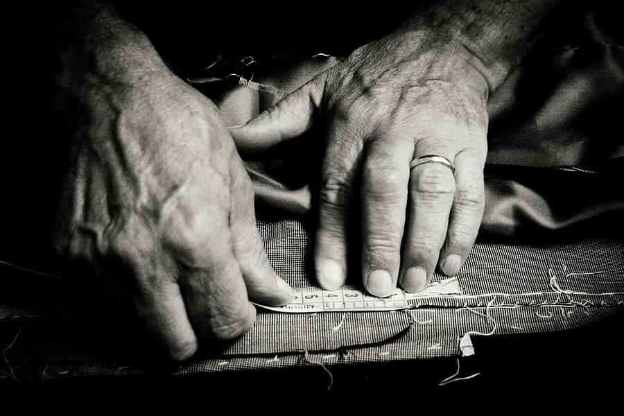 Tailor At Work Photograph by Gmalandra
