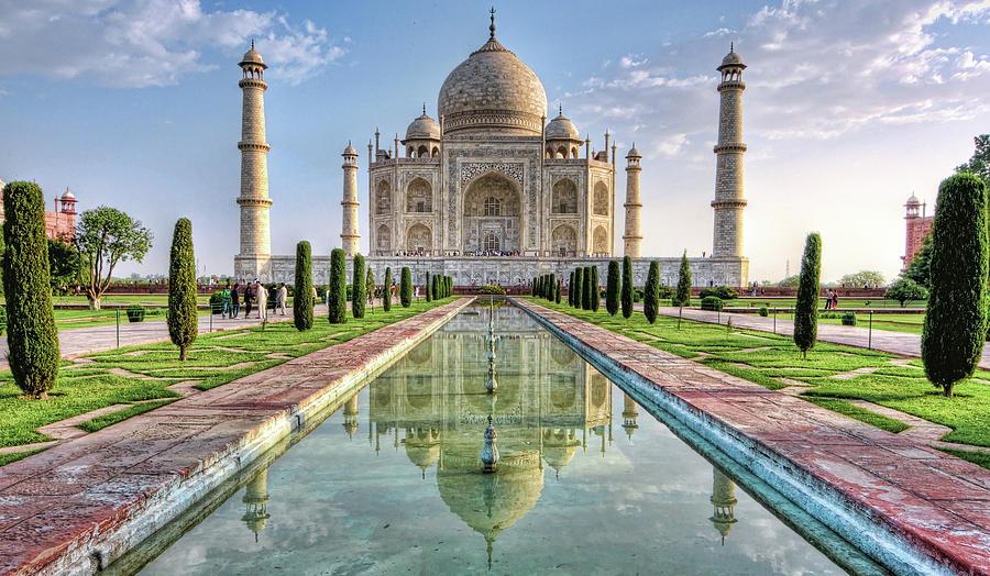 Taj Mahal Photograph by © Razvan Ciuca