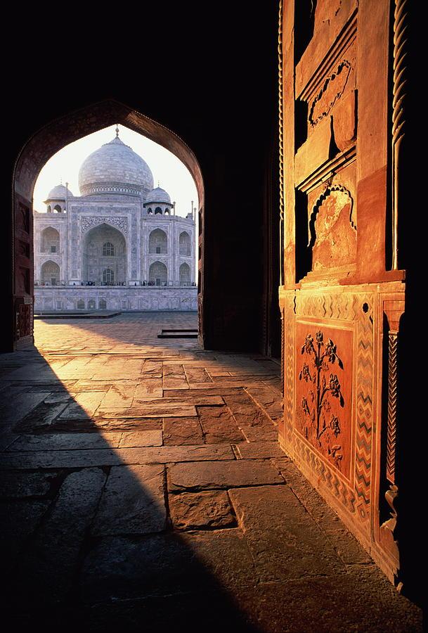 Taj Mahal, Agra India Photograph by Andrea Pistolesi