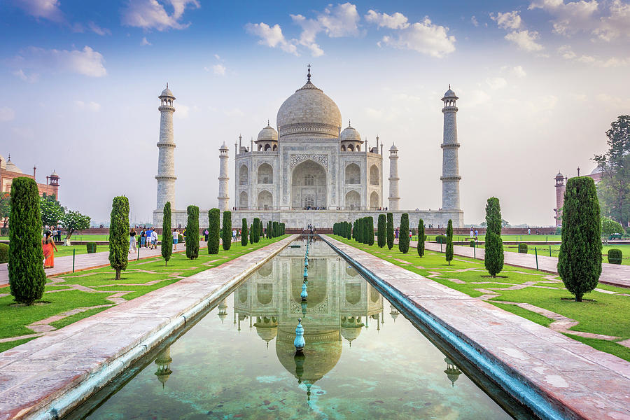 Taj Mahal Agra India by Gary Gillette