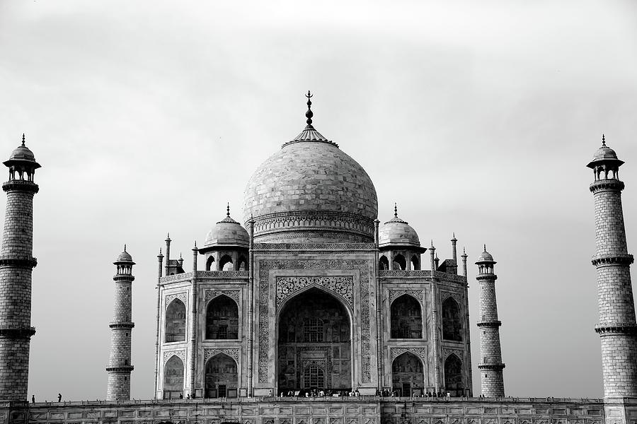 Arch Photograph - Taj Mahal by Brian Farrell