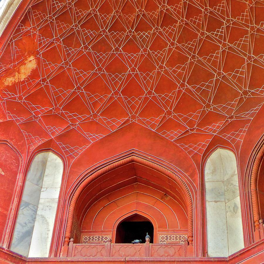 Taj Mahal Gateway - Detail Photograph by L F Ramos-reyes